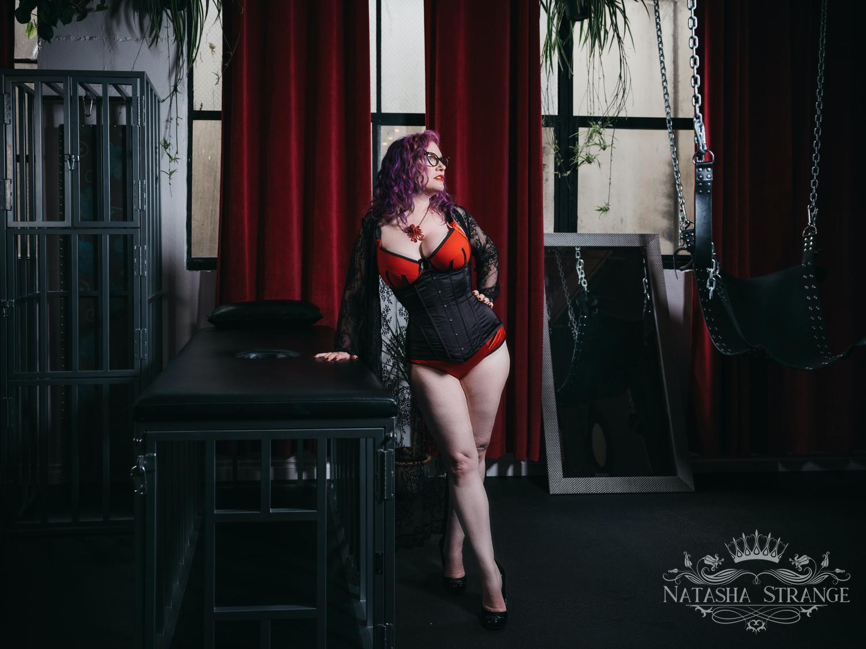 Portland Dominatrix and BDSM Educator Natasha Strange
